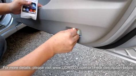 Cover Ban Land Cruiser Toyota Logo Kulit Mb Tech ijdmtoy tutorial how to install led door courtesy lights
