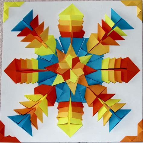 Mit Origami - 77 best origami mit symmetrie images on