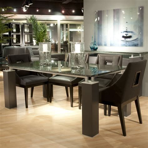 crackle glass dining table dining table with crackle glass modern dining