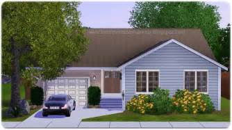Small Homes Big Families My Sims 3 Small Family Home By Home Is Where The