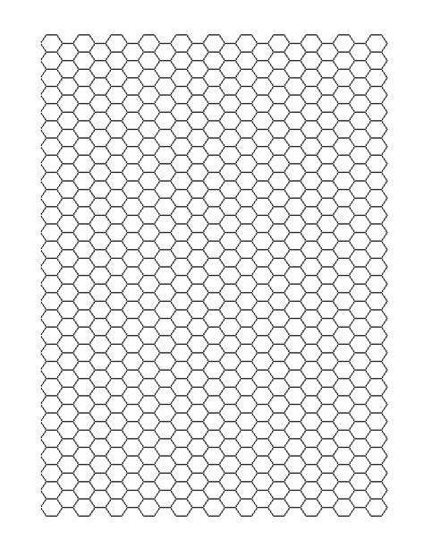 hexagon graph paper hexagonal graph paper