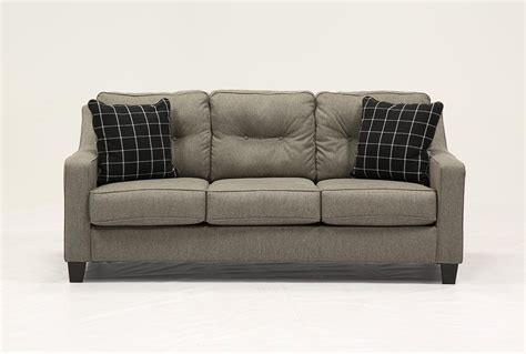 brindon charcoal sleeper sofa brindon charcoal sofa sleeper living spaces