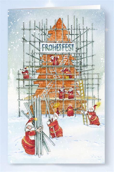 Weihnachtskarte Branchenkarte Ger 252 Stbau Renovierung