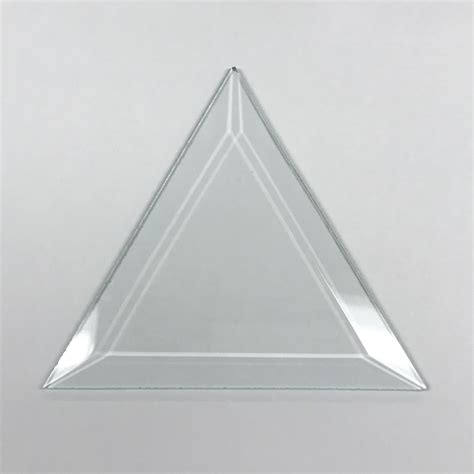 triangle pattern glass glass triangle bevel large glass house store
