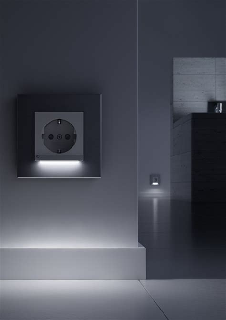 steckdosen beleuchtung gira 117028 schuko steckdose mit led beleuchtung anthrazit