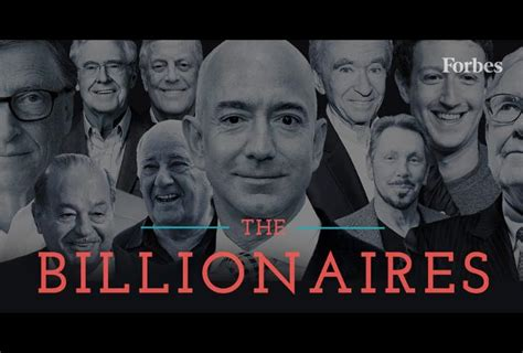 the world s billionaires 2018
