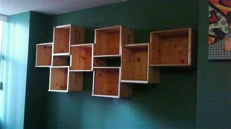 Diy Bathroom Shelving Ideas by Diy How To Make A Wine Box Book Shelf Youtube