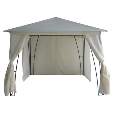gazebo tesco buy gazebo steel framed w side walls from our gazebos