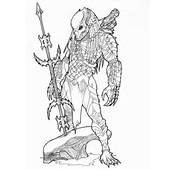 Predator Coloring Pages For Kids &gt&gt Disney