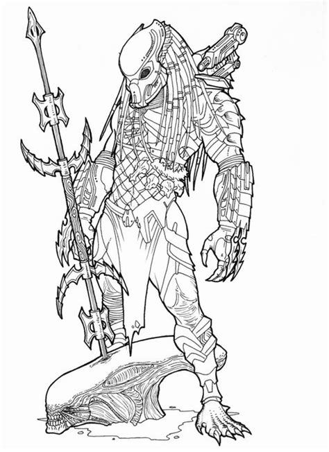 free coloring pages predator coloring pages for kids