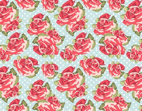 wallpaper bunga warna pastel motif shabby chic yang populer tren design kain terbaru