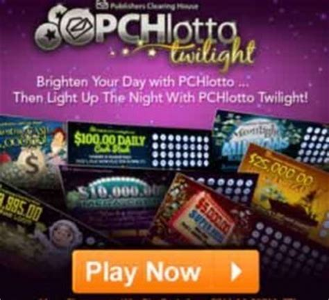 Pchlotto Sweepstakes - www pchlotto com sweepstakes pch lotto