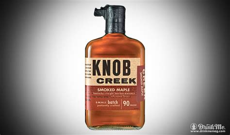 Knob Creek Drinks by Knob Creek Smoked Maple Bourbon Drink Me