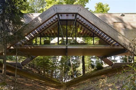 a frame building plans 2018 bridge house llama design archdaily