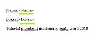 cara membuat mail merge ms word 2010 cara membuat mail merge pada microsoft word 2010 binus