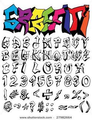 artwork web combination style  writing graffiti alphabet