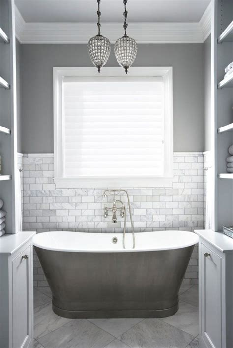 White And Grey Interior by Best 25 Grey White Bathrooms Ideas On
