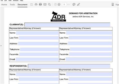 arbitration template generate a demand for arbitration letter from salesforce