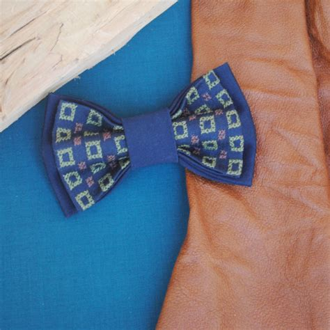 Embroidered Bow Tie embroidered bow tie navy blue pretied bow tie s bowtie