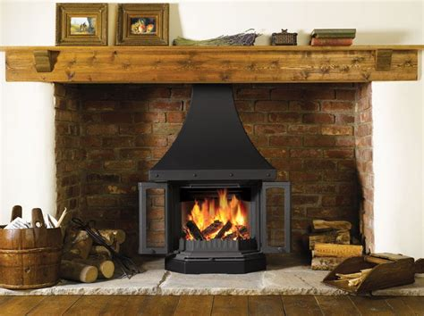 Wood Burning Stove In Fireplace by Dovre 2300 Cb Wood Burning Fireplace Stove