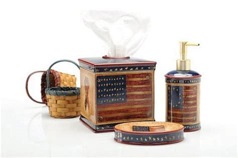 patriotic bathroom decor americana decorating ideas www nicespace me