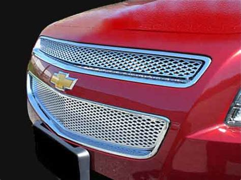 Terios Front Grille Cover Model Bentley Chrome chevy malibu chrome grille insert overlay trim