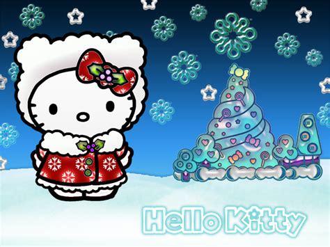 hello kitty christmas wallpaper iphone free hello kitty christmas wallpaper wallpapersafari