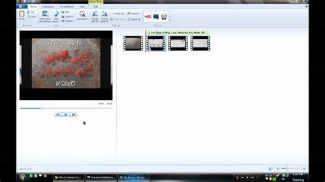 windows movie maker intro tutorial wss intro fading transition windows live movie maker