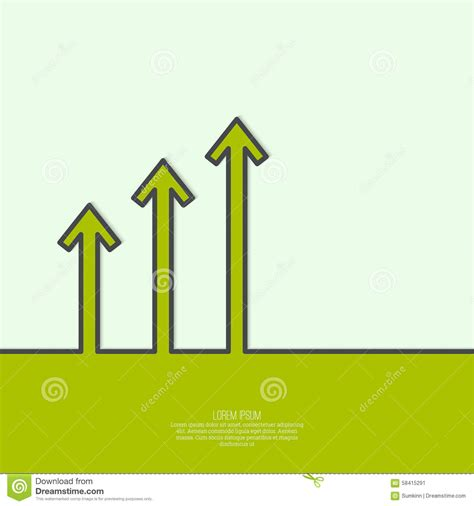 most successful investment bankers the graph shows the growth stock vector image 58415291