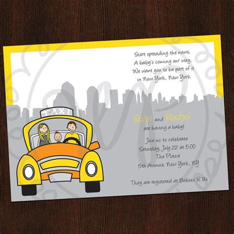 city baby shower invitations 30 best images about nyc themed babyshower on