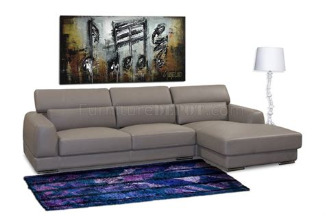 leather sectional chicago mink brown bonded leather modern chicago sectional sofa