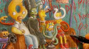 Shows On Treehouse - the simpsons quot treehouse of horror quot couch drawing youtube