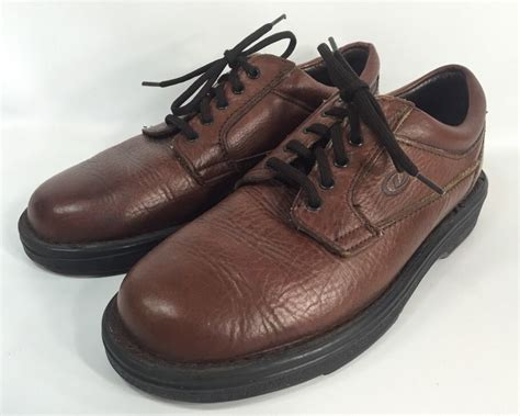 dexter comfort dexter comfort leather brown casual mens shoes 9 m made