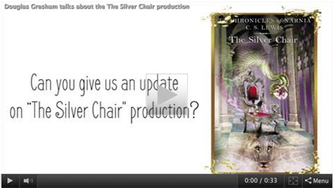 narnia film official website the silver chair movie news gresham talks about the