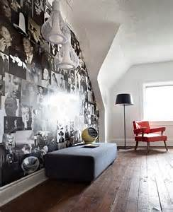 Contemporary Wall Murals Retro Modern House With Black And White Interior Palette