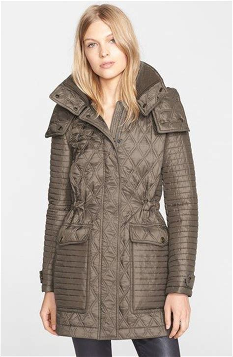 burberry brit bosdale quilted coat with detachable