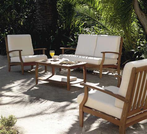 fauteuil de jardin bois fauteuil salon de jardin bois qaland