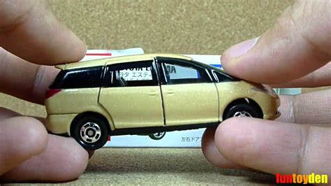 Hw Lightblue toyota estima takara tomy tomica die cast car collection