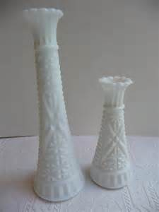Antique Milk Glass Vases Unavailable Listing On Etsy