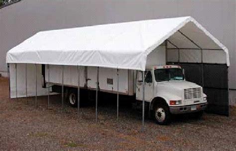 Tarp Garages by Rv Storage Tent Portable Garage Shelter