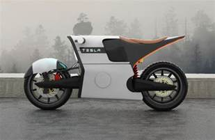 Tesla Motor Design Tesla E Bike An Electric Motorcycle Design For