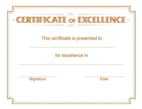 Template Certificate – Certificate Template Download Word File