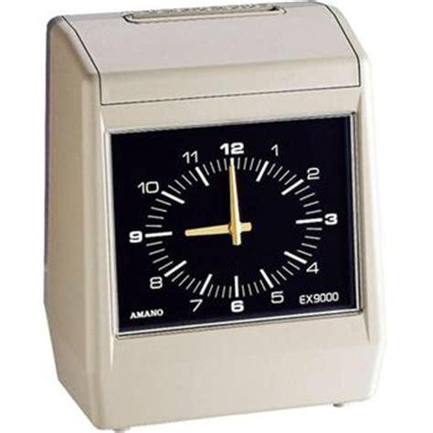 Mesin Amano amano ex9000 series electronic time clock time clock