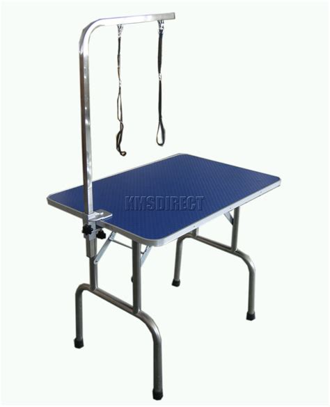 folding pet grooming table 38 quot with height adjustable