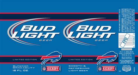 Bud Light Label by New Labels Bud Light Nfl Edition Beerpulse