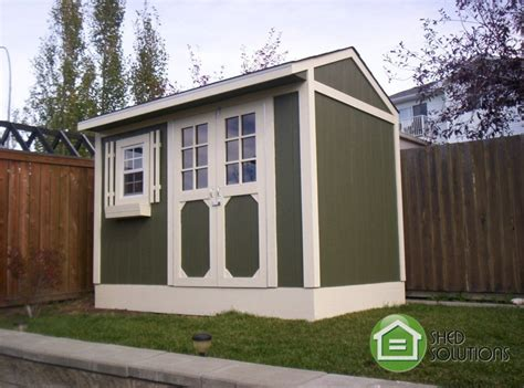 installed garden shed 6x10 the whistler shed solutions
