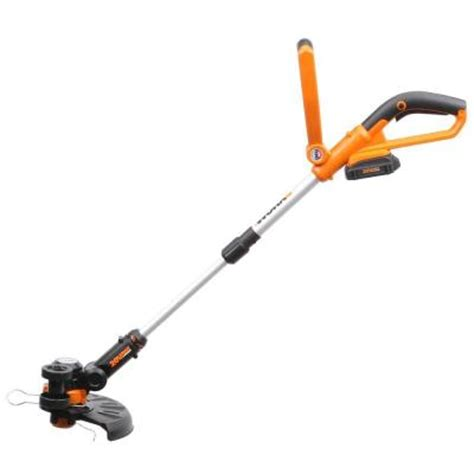 Cutterpede Edge Trimmer 10 by Worx 10 In 20 Volt Lithium Ion Cordless Grass Trimmer Edger