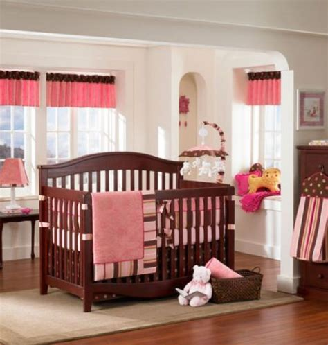 pink nursery ideas pink and brown nursery and bedroom decorating ideas