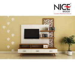 wooden lcd unit lcd tv cabinet manufacturer  ahmedabad