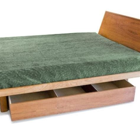 Handmade Platform Beds - handmade floating platform bed frame only by bedworks